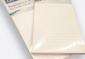 Notes z magnesem np. na lodówkę
